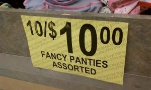 Fancy Panties