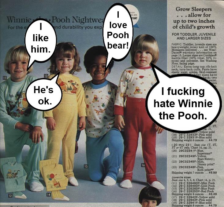 Hate Winnie the Pooh