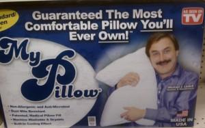My Pillow Mustache