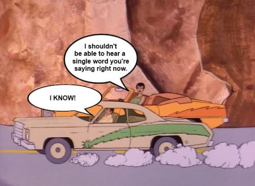 Super Friends Car Convo