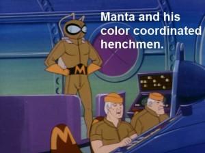 Super Friends Manta