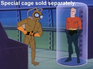 Super Friends Special Cage