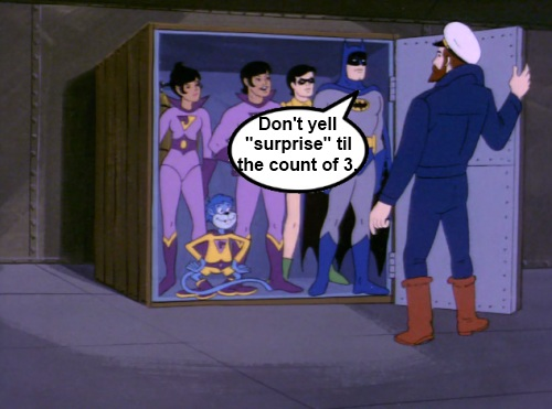 Super Friends Suprise Party