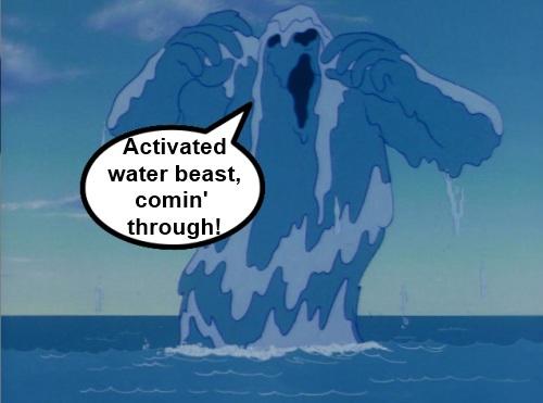 Super Friends Water Beast