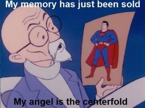 Super Friends Centerfold