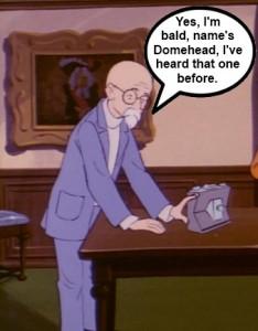Super Friends Domehead