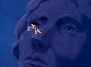 Super Friends Wonder Woman falls off Thomas Jefferson Nose