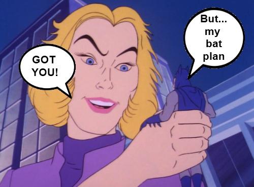 Super Friends Bat Plan