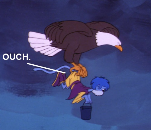 Super Friends Butt Pinch