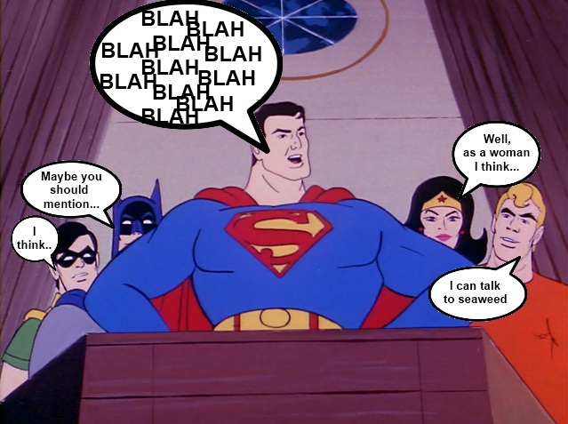 Super Friends Call a Meeting