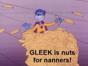 Super Friends Gleek Nanners