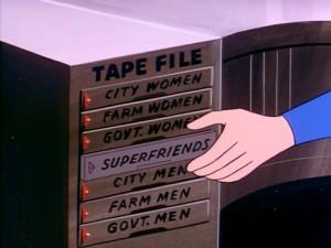 Super Friends Superman Tape Collection