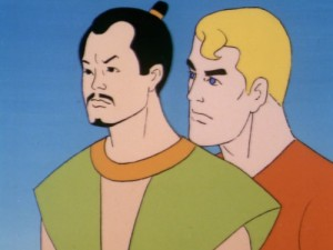 Super Friends Aquaman and Samurai