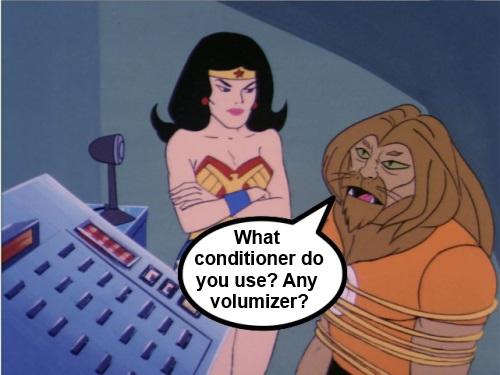 Super Friends Hair Talk