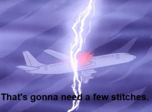 Super Friends Lightning Plane