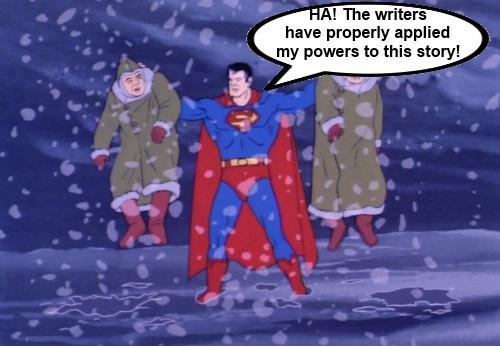 Super Friends Superman Brags