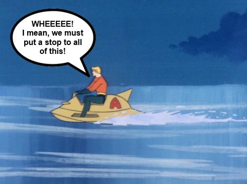 Super Friends Aquaman Ice