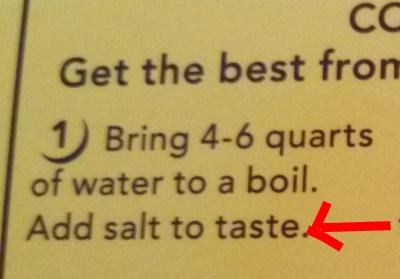 Boil Taste