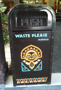 This thing loves refuse, and wants yours inside it.