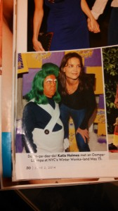 Katie Holms and Oompa