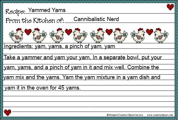 Yammed Yams